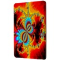 Crazy Mandelbrot Fractal Red Yellow Turquoise Kindle Fire (1st Gen) Hardshell Case View3