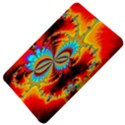 Crazy Mandelbrot Fractal Red Yellow Turquoise Kindle Fire (1st Gen) Hardshell Case View4