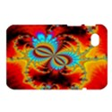 Crazy Mandelbrot Fractal Red Yellow Turquoise Samsung Galaxy Tab 7  P1000 Hardshell Case  View1