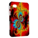 Crazy Mandelbrot Fractal Red Yellow Turquoise Samsung Galaxy Tab 7  P1000 Hardshell Case  View2