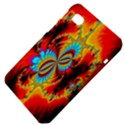 Crazy Mandelbrot Fractal Red Yellow Turquoise Samsung Galaxy Tab 7  P1000 Hardshell Case  View4