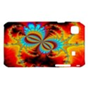 Crazy Mandelbrot Fractal Red Yellow Turquoise Samsung Galaxy S i9008 Hardshell Case View1