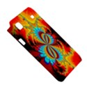 Crazy Mandelbrot Fractal Red Yellow Turquoise Samsung Galaxy S i9008 Hardshell Case View5