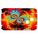 Crazy Mandelbrot Fractal Red Yellow Turquoise Samsung S3350 Hardshell Case View1