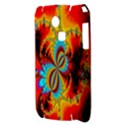 Crazy Mandelbrot Fractal Red Yellow Turquoise Samsung S3350 Hardshell Case View3