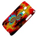 Crazy Mandelbrot Fractal Red Yellow Turquoise Samsung S3350 Hardshell Case View4