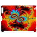 Crazy Mandelbrot Fractal Red Yellow Turquoise Apple iPad 2 Hardshell Case (Compatible with Smart Cover) View1