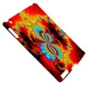 Crazy Mandelbrot Fractal Red Yellow Turquoise Apple iPad 2 Hardshell Case (Compatible with Smart Cover) View5