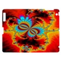 Crazy Mandelbrot Fractal Red Yellow Turquoise Apple iPad 3/4 Hardshell Case View1