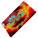 Crazy Mandelbrot Fractal Red Yellow Turquoise Apple iPad 3/4 Hardshell Case View4