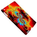 Crazy Mandelbrot Fractal Red Yellow Turquoise Apple iPad 3/4 Hardshell Case (Compatible with Smart Cover) View5