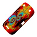 Crazy Mandelbrot Fractal Red Yellow Turquoise BlackBerry Curve 9380 View4