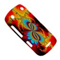 Crazy Mandelbrot Fractal Red Yellow Turquoise BlackBerry Curve 9380 View5