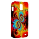 Crazy Mandelbrot Fractal Red Yellow Turquoise Samsung Galaxy S II Skyrocket Hardshell Case View2