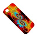 Crazy Mandelbrot Fractal Red Yellow Turquoise Apple iPhone 4/4S Premium Hardshell Case View5