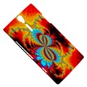 Crazy Mandelbrot Fractal Red Yellow Turquoise Sony Xperia S View5