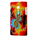 Crazy Mandelbrot Fractal Red Yellow Turquoise Sony Xperia ion View3