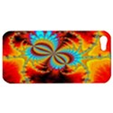 Crazy Mandelbrot Fractal Red Yellow Turquoise Apple iPhone 5 Hardshell Case View1