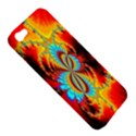 Crazy Mandelbrot Fractal Red Yellow Turquoise Apple iPhone 5 Hardshell Case View5