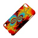 Crazy Mandelbrot Fractal Red Yellow Turquoise Apple iPod Touch 5 Hardshell Case View4