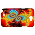 Crazy Mandelbrot Fractal Red Yellow Turquoise Samsung Galaxy Note 2 Hardshell Case View1