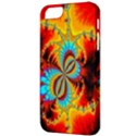 Crazy Mandelbrot Fractal Red Yellow Turquoise Apple iPhone 5 Classic Hardshell Case View3