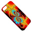 Crazy Mandelbrot Fractal Red Yellow Turquoise Apple iPhone 5 Classic Hardshell Case View5