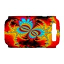 Crazy Mandelbrot Fractal Red Yellow Turquoise Samsung Galaxy S III Hardshell Case (PC+Silicone) View1