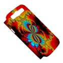 Crazy Mandelbrot Fractal Red Yellow Turquoise Samsung Galaxy S III Hardshell Case (PC+Silicone) View5