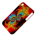 Crazy Mandelbrot Fractal Red Yellow Turquoise Apple iPhone 3G/3GS Hardshell Case (PC+Silicone) View4