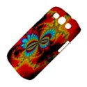 Crazy Mandelbrot Fractal Red Yellow Turquoise Samsung Galaxy S III Classic Hardshell Case (PC+Silicone) View4