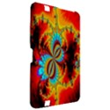 Crazy Mandelbrot Fractal Red Yellow Turquoise Kindle Fire HD 8.9  View2