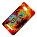 Crazy Mandelbrot Fractal Red Yellow Turquoise HTC One SU T528W Hardshell Case View4