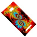 Crazy Mandelbrot Fractal Red Yellow Turquoise HTC 8X View5
