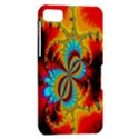 Crazy Mandelbrot Fractal Red Yellow Turquoise BlackBerry Z10 View2
