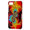 Crazy Mandelbrot Fractal Red Yellow Turquoise BlackBerry Z10 View3