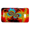 Crazy Mandelbrot Fractal Red Yellow Turquoise HTC Butterfly X920E Hardshell Case View1