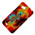 Crazy Mandelbrot Fractal Red Yellow Turquoise HTC Desire VC (T328D) Hardshell Case View4
