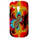 Crazy Mandelbrot Fractal Red Yellow Turquoise Samsung Galaxy S3 MINI I8190 Hardshell Case View3