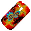 Crazy Mandelbrot Fractal Red Yellow Turquoise Samsung Galaxy S3 MINI I8190 Hardshell Case View4
