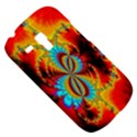 Crazy Mandelbrot Fractal Red Yellow Turquoise Samsung Galaxy S3 MINI I8190 Hardshell Case View5