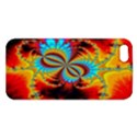 Crazy Mandelbrot Fractal Red Yellow Turquoise Apple iPhone 5 Premium Hardshell Case View1