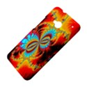 Crazy Mandelbrot Fractal Red Yellow Turquoise HTC One M7 Hardshell Case View4
