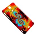 Crazy Mandelbrot Fractal Red Yellow Turquoise Sony Xperia TX View5
