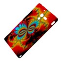 Crazy Mandelbrot Fractal Red Yellow Turquoise Sony Xperia ZL (L35H) View4