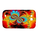 Crazy Mandelbrot Fractal Red Yellow Turquoise Samsung Galaxy Grand GT-I9128 Hardshell Case  View1