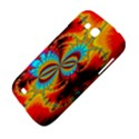 Crazy Mandelbrot Fractal Red Yellow Turquoise Samsung Galaxy Grand GT-I9128 Hardshell Case  View4