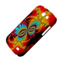 Crazy Mandelbrot Fractal Red Yellow Turquoise Samsung Galaxy Express I8730 Hardshell Case  View4