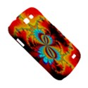 Crazy Mandelbrot Fractal Red Yellow Turquoise Samsung Galaxy Express I8730 Hardshell Case  View5