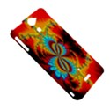 Crazy Mandelbrot Fractal Red Yellow Turquoise Sony Xperia V View5
